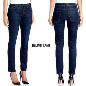 Helmut Lang ankle skinny dark wash jeans denim